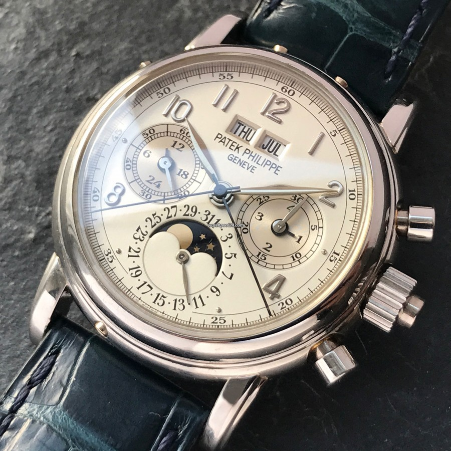 Patek Philippe Grand Complications 5004P - the Holy Grail - Perpetual Calendar and Split Seconds Chronograph