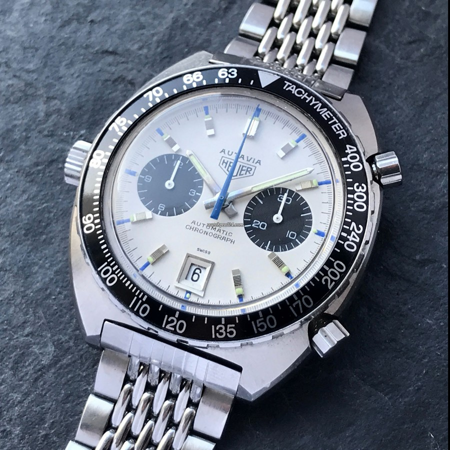 Heuer Autavia 1163 Siffert - a vintage chronograph worn by a legend