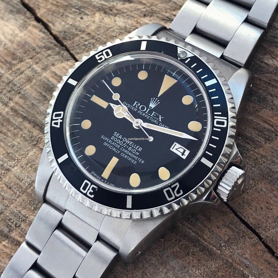 Rolex Sea-Dweller 1665 - MK4 - the legendary diver's watch from 1983