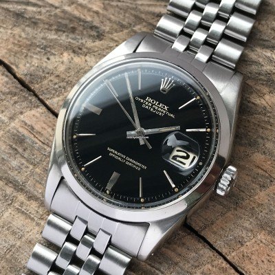 Rolex Datejust 1600 Gilt Dial