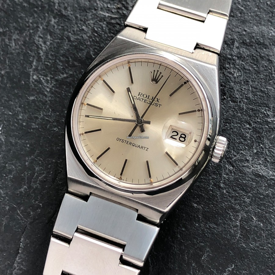 Rolex Datejust Oysterquartz 17000 - eine tickende Rolex aus 1979