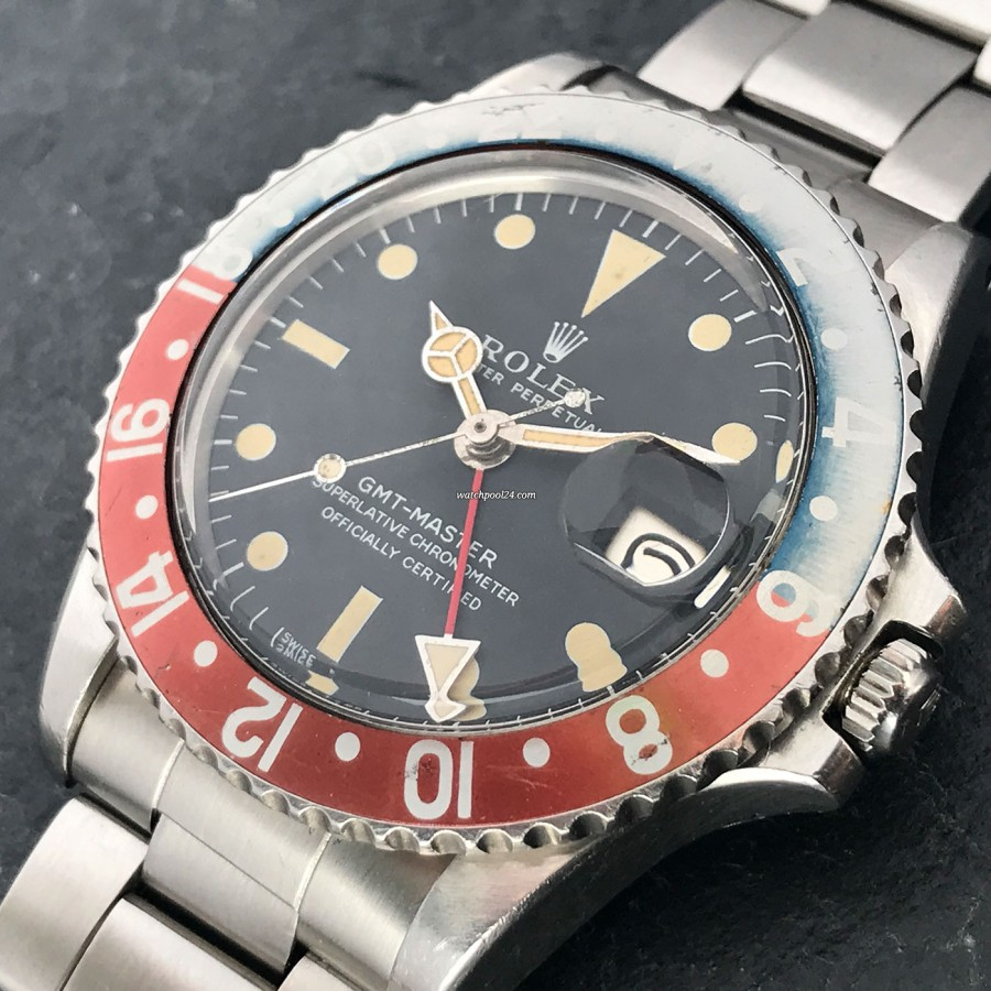 Vintage Rolex GMT Master 1675 Faded Bezel sold on watchPool24