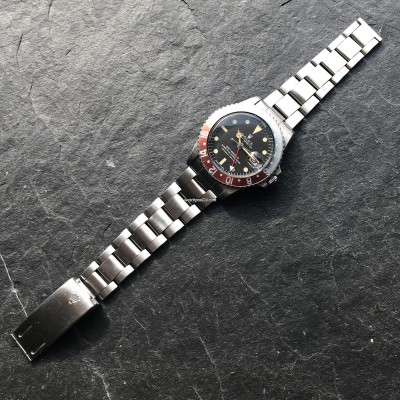 Rolex GMT Master 1675 Faded Bezel