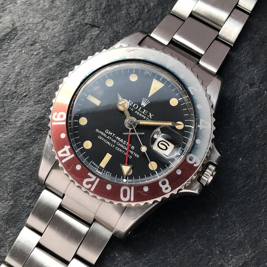 Rolex GMT Master 1675 Faded Bezel - eine äußerst attraktive Armbanduhr