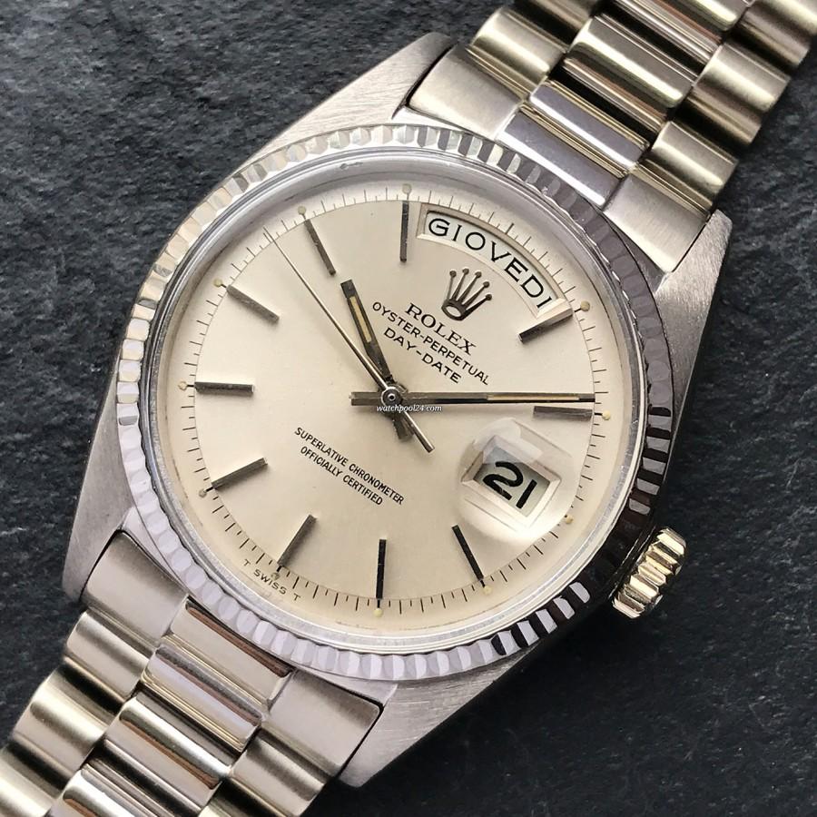 Rolex Day-Date 1803 White Gold - elegante und hochwertige Vintage-Uhr aus dem Jahre 1969