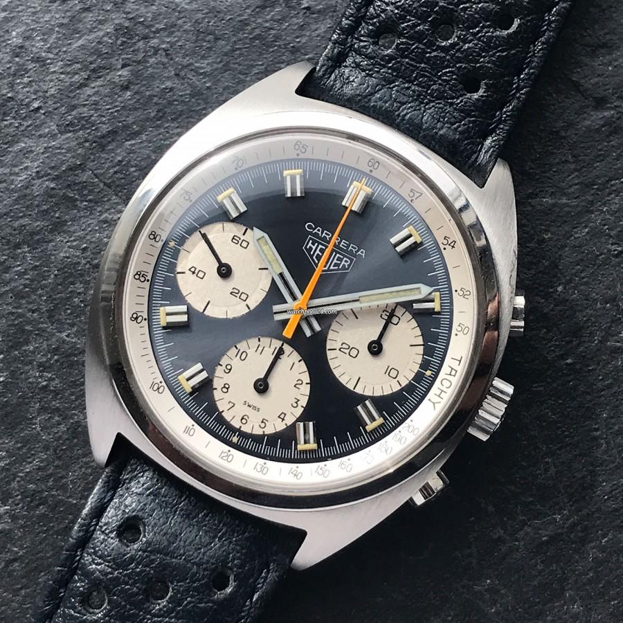 Heuer Carrera 73653 - atemberaubender Chronograph aus den 70-er Jahren