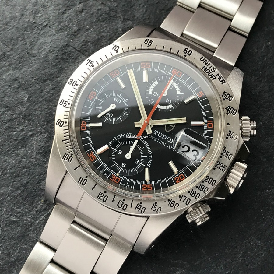 Tudor Oysterdate 94300 Monte-Carlo - a masculine chronograph from 1980