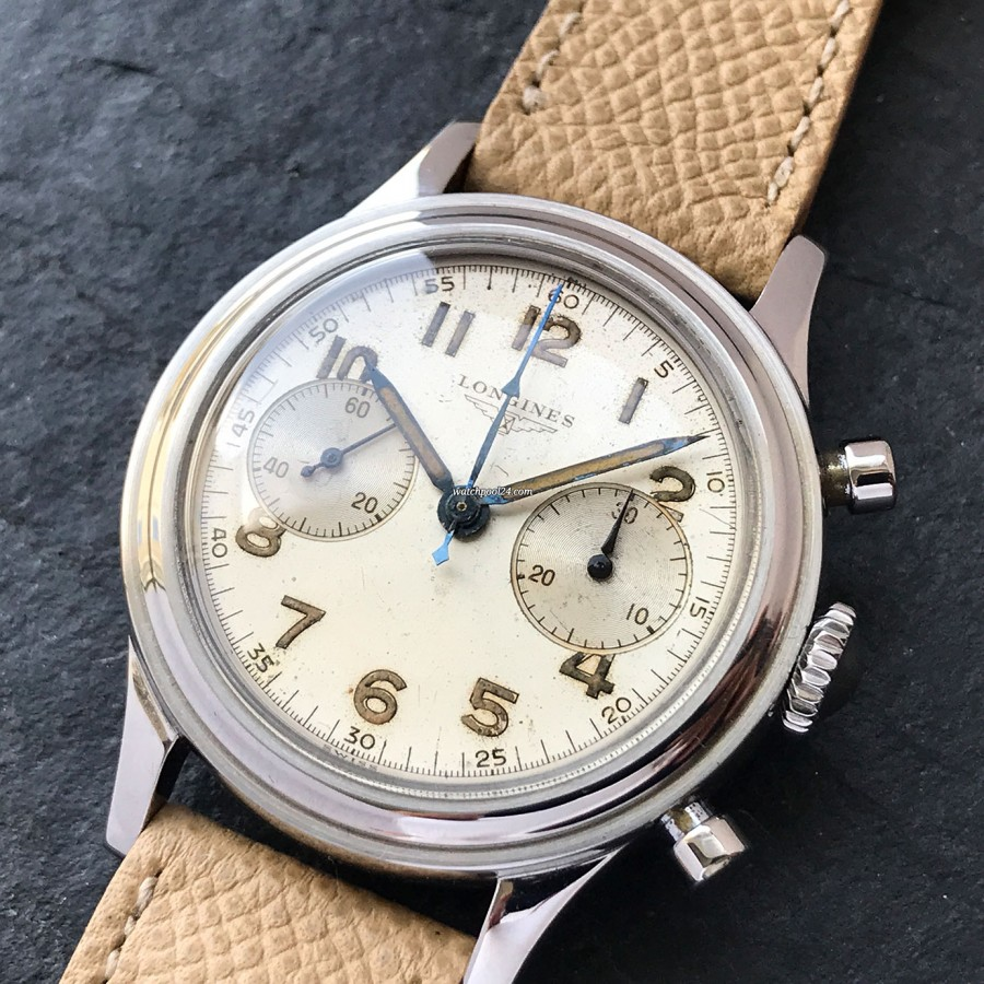 Longines Chronograph 6474 Flyback MK1 - super rare execution of the legendary chrono
