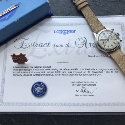 Longines Chronograph 6474 Flyback MK1