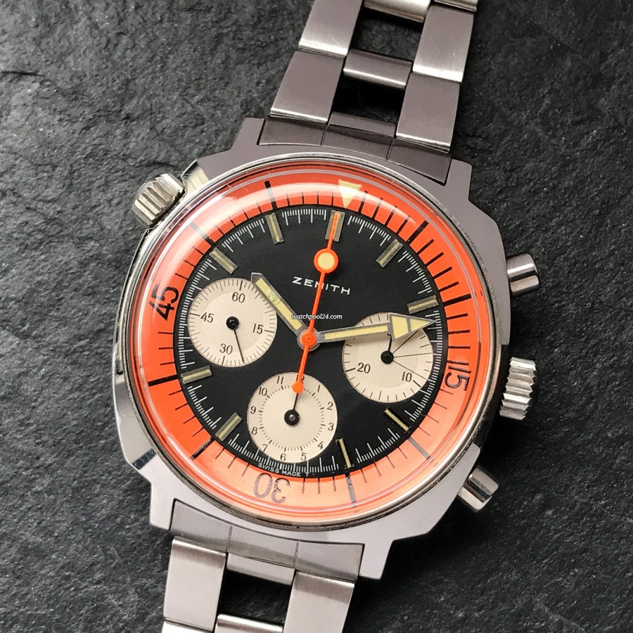 Zenith Super Sub Sea A3736 - a first-class vintage collector's watch in exceptional condition