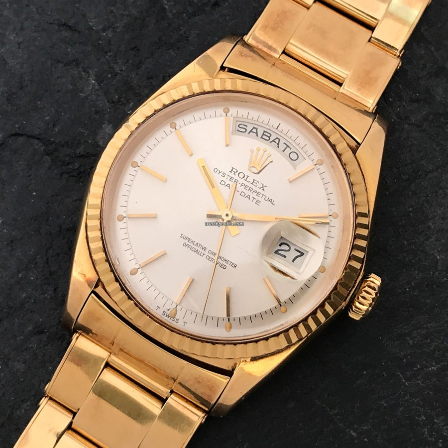 Rolex Day-Date 1803 Yellow Gold - an undisputed watch icon from 1967