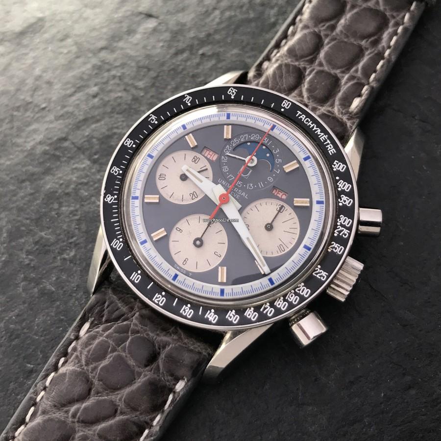 Universal Genève Tri-Compax 881101/03 - eine wahrhaft exotische Armbanduhr