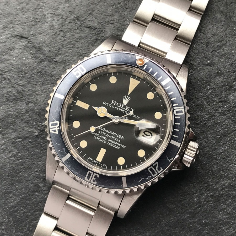 Rolex Submariner 16800 Full Set - a high collectable vintage watch from 1983