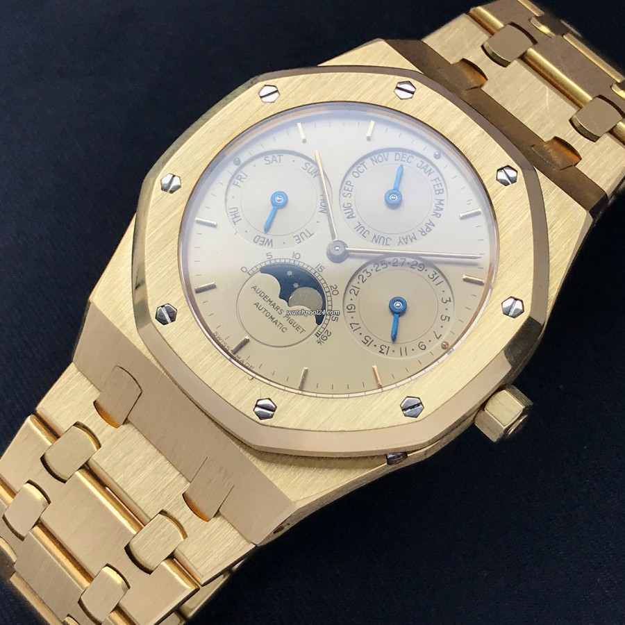 Audemars Piguet Royal Oak Perpetual Calendar 25654BA - a luxurious and complicated wrist watch from 1990