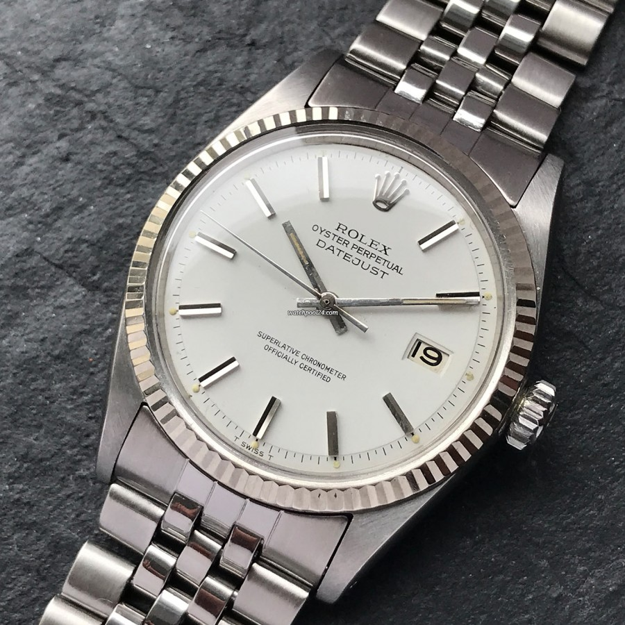 Rolex Datejust 1601 Corn Grained Dial - the elegant classic from 1967