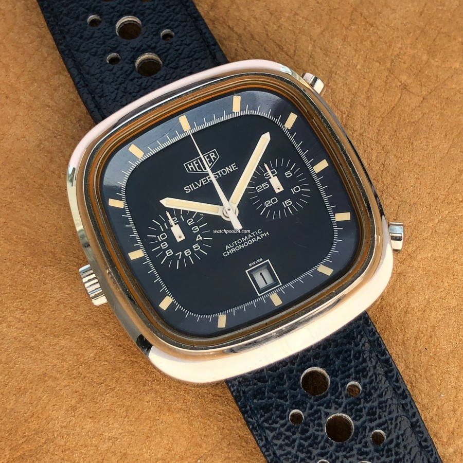 Heuer Silverstone 110.313 Clay Regazzoni - an iconic chronograph from 1974