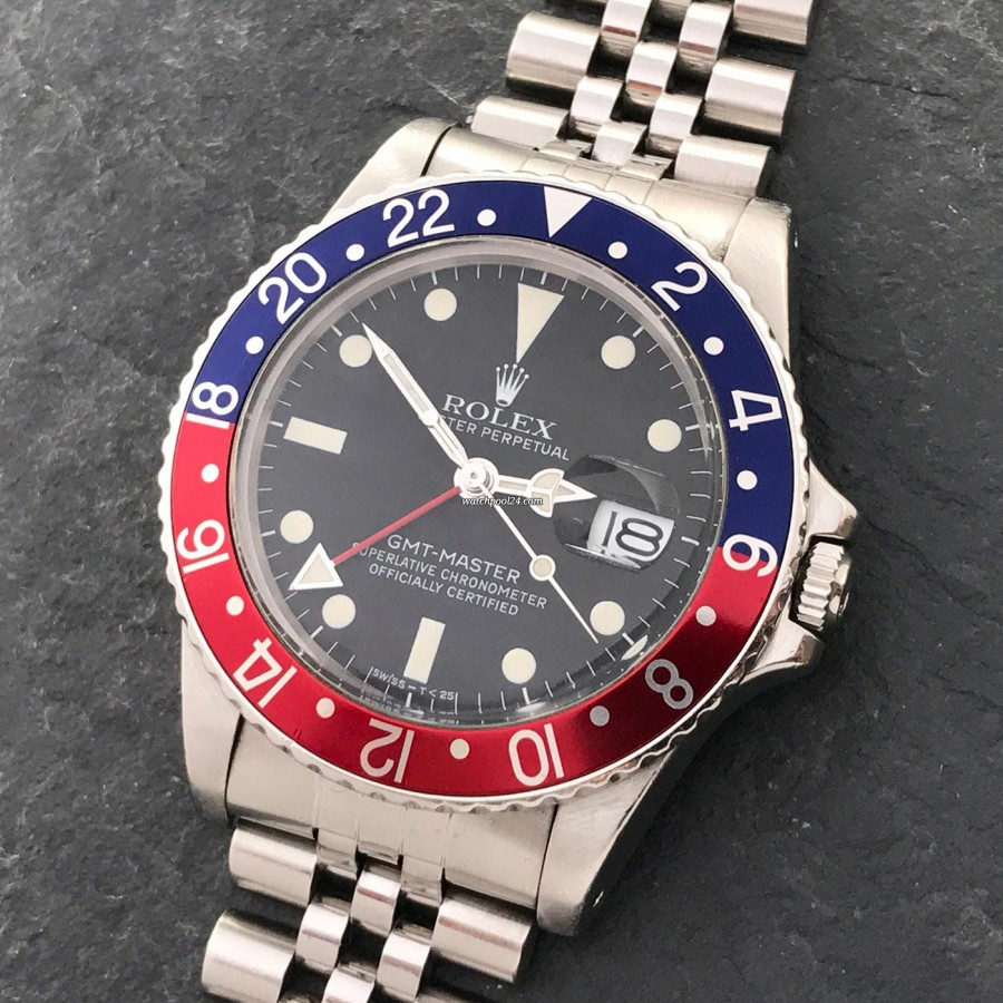 Rolex GMT Master 16750 White Lume - the rare transitional reference of the legendary pilot's watch
