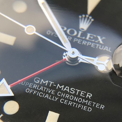 Rolex GMT Master 16750 White Lume