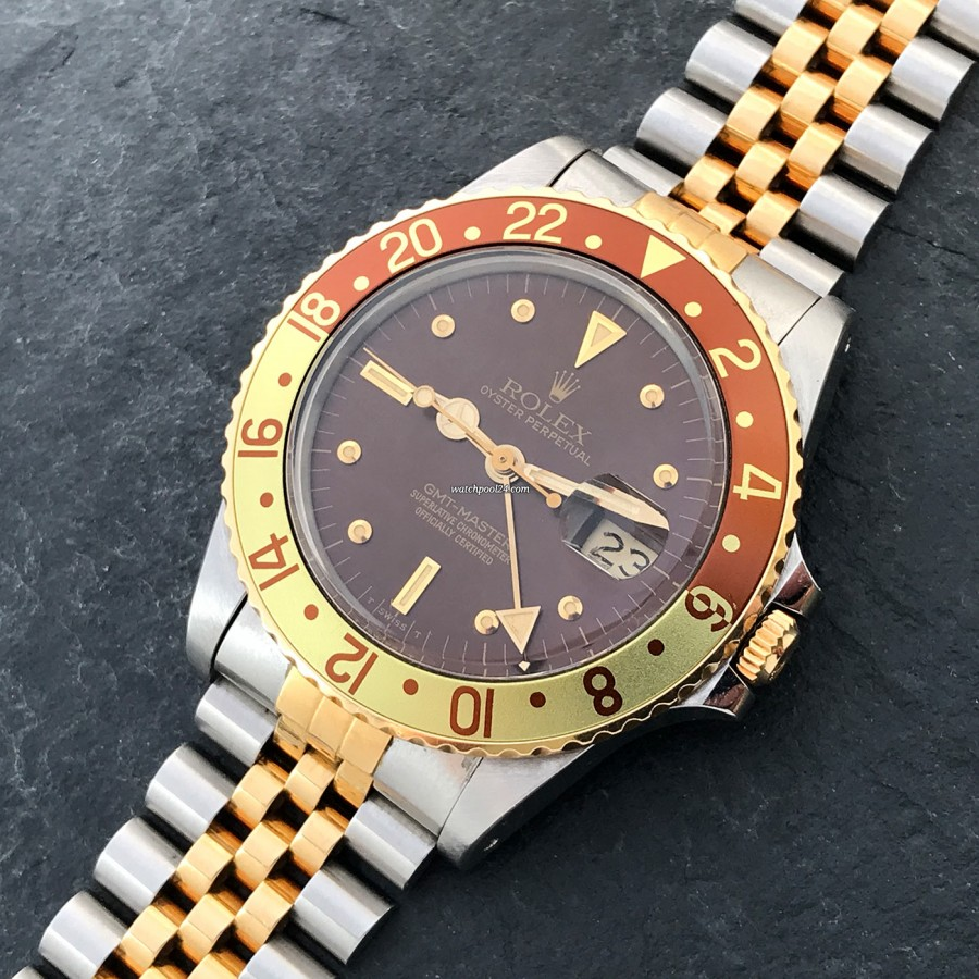 Rolex GMT Master 16753 Punched Papers - the precious variant of the GMT-Master