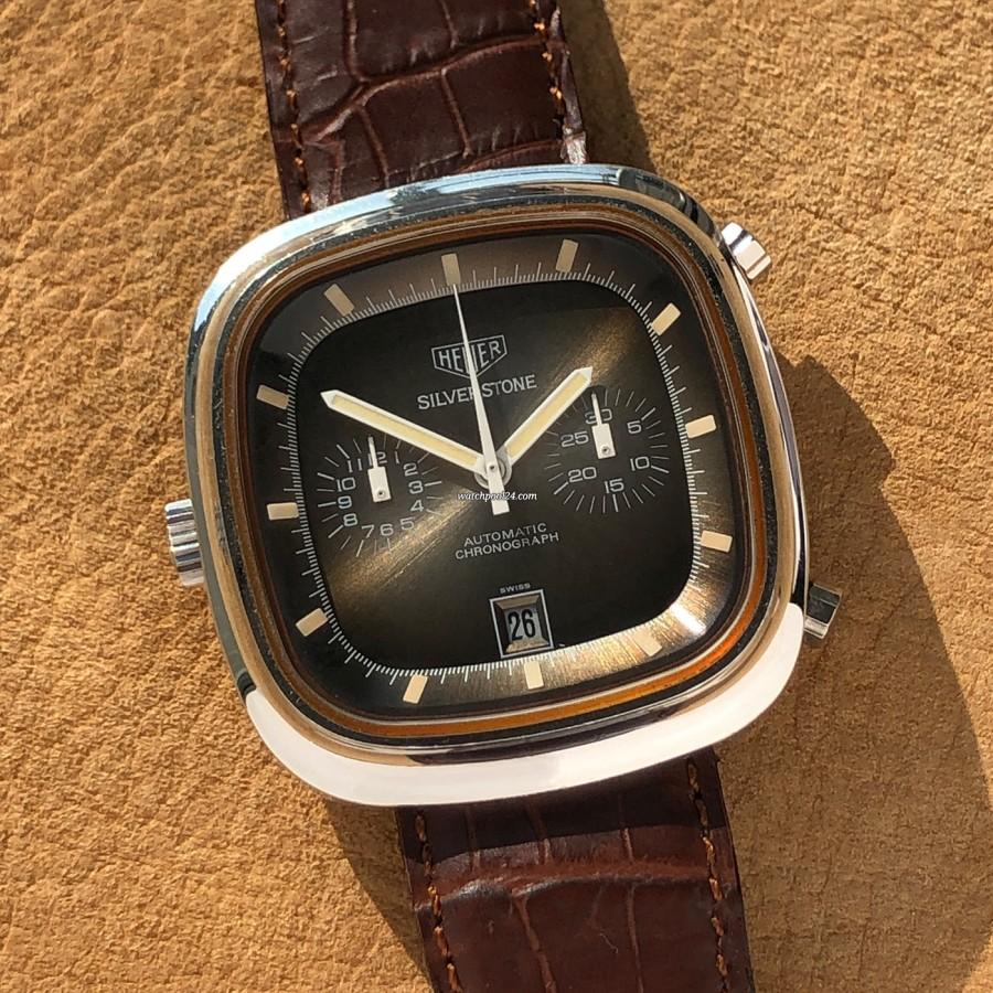 Heuer Silverstone 110.313 Fumé Matching Lume - eine spektakuläre Vintage-Uhr von 1974