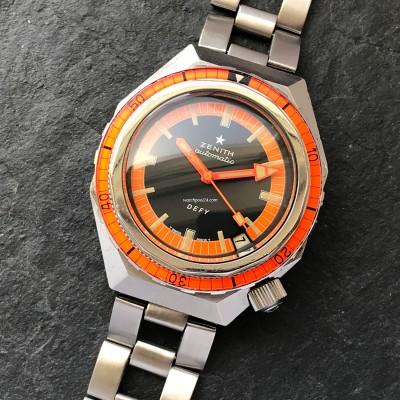 Zenith Defy A3648 Plongeur Orange Dial