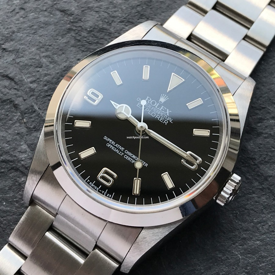 Rolex Explorer 14270 Full Set - elegant, sporty and unobtrusive - an icon from 1996