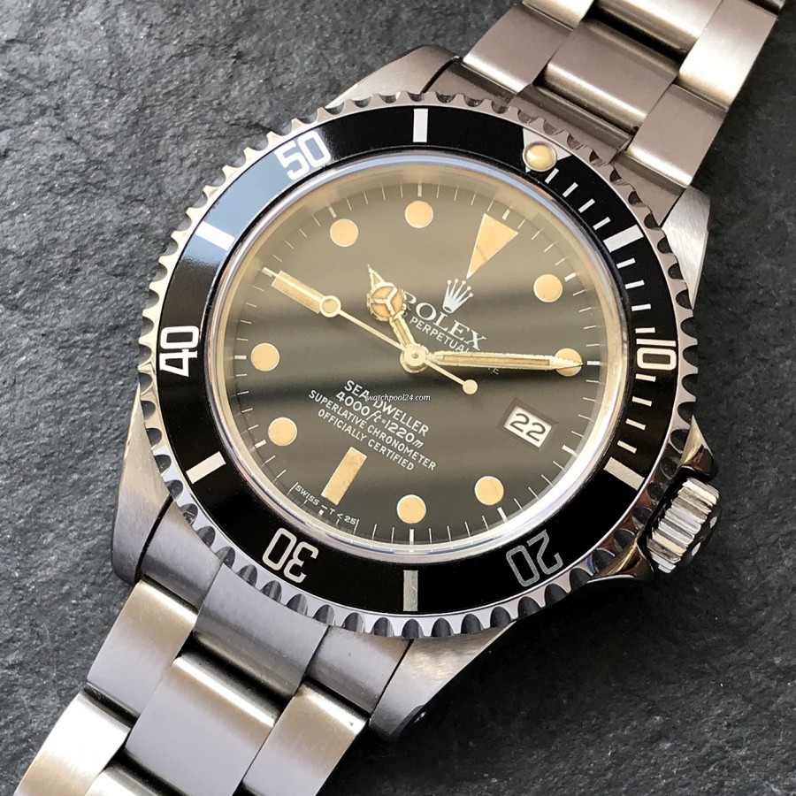 Rolex Sea-Dweller 16660 Stunning Patina - Triple Six Sea-Dweller von 1982