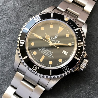 Rolex Sea-Dweller 16660 Stunning Patina