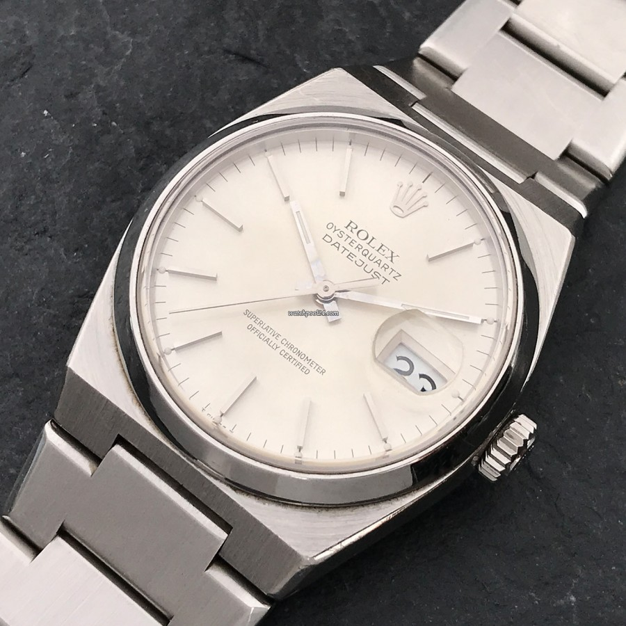 Rolex Datejust Oysterquartz 17000 Mark 2 - a ticking wristwatch made by Rolex