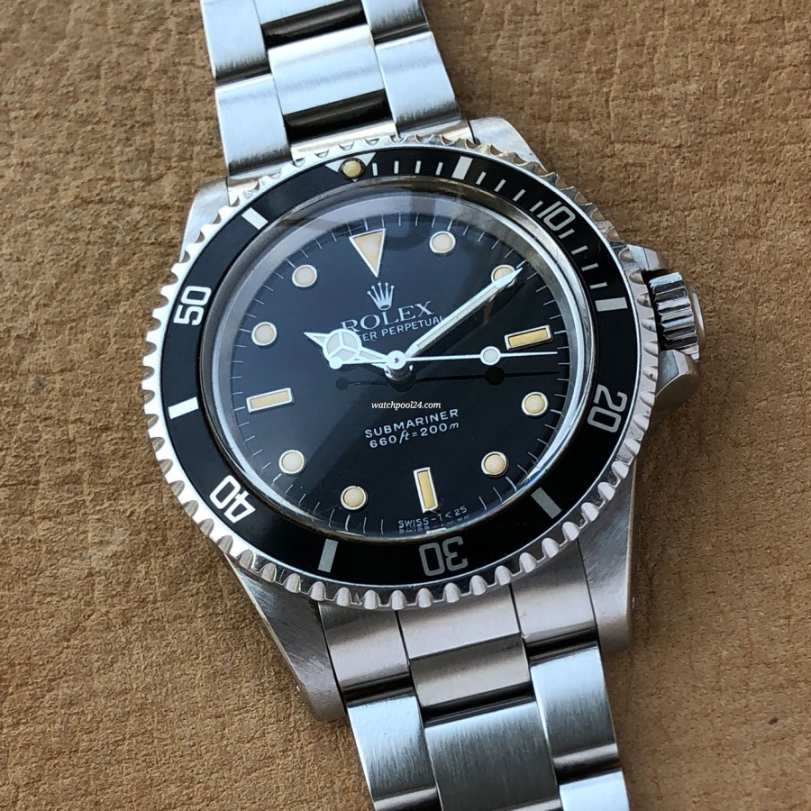 Rolex Submariner 5513 Transitional - ein 'Transitional'-Exemplar der legendären Taucheruhr aus 1988