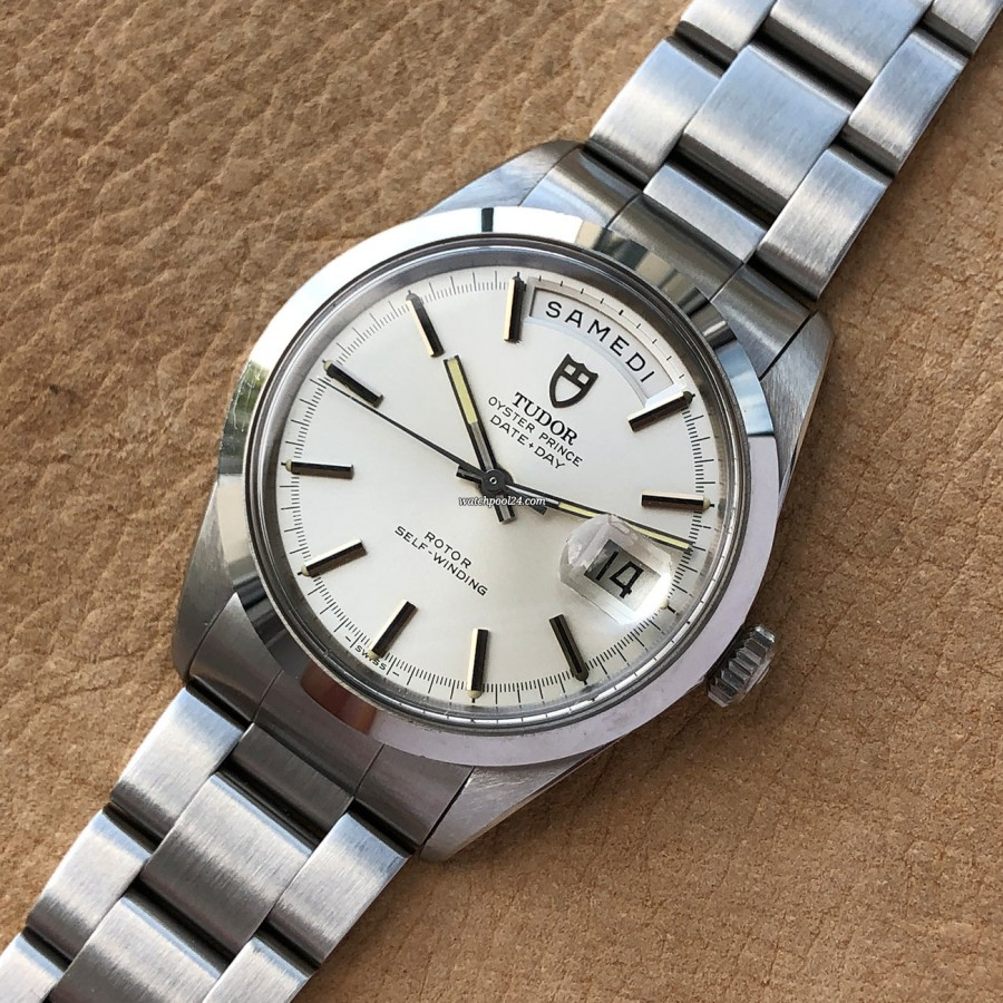Tudor Oyster Prince Date-Day 7017/0 NOS Full Set - a NOS condition watch from 1969