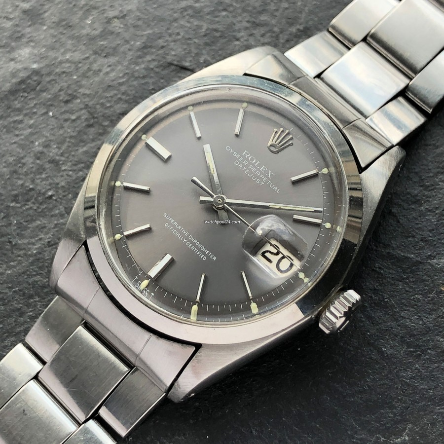 Rolex Datejust 1600 - classic and elegant wristwatch from 1969