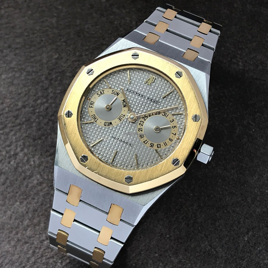 Audemars Piguet Royal Oak 25572SA - a beautiful two-tone vintage watch from 1984