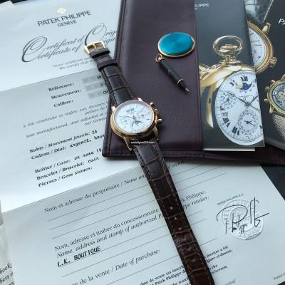 Patek Philippe Grand Complications 3970 Rose Gold - Full Set
