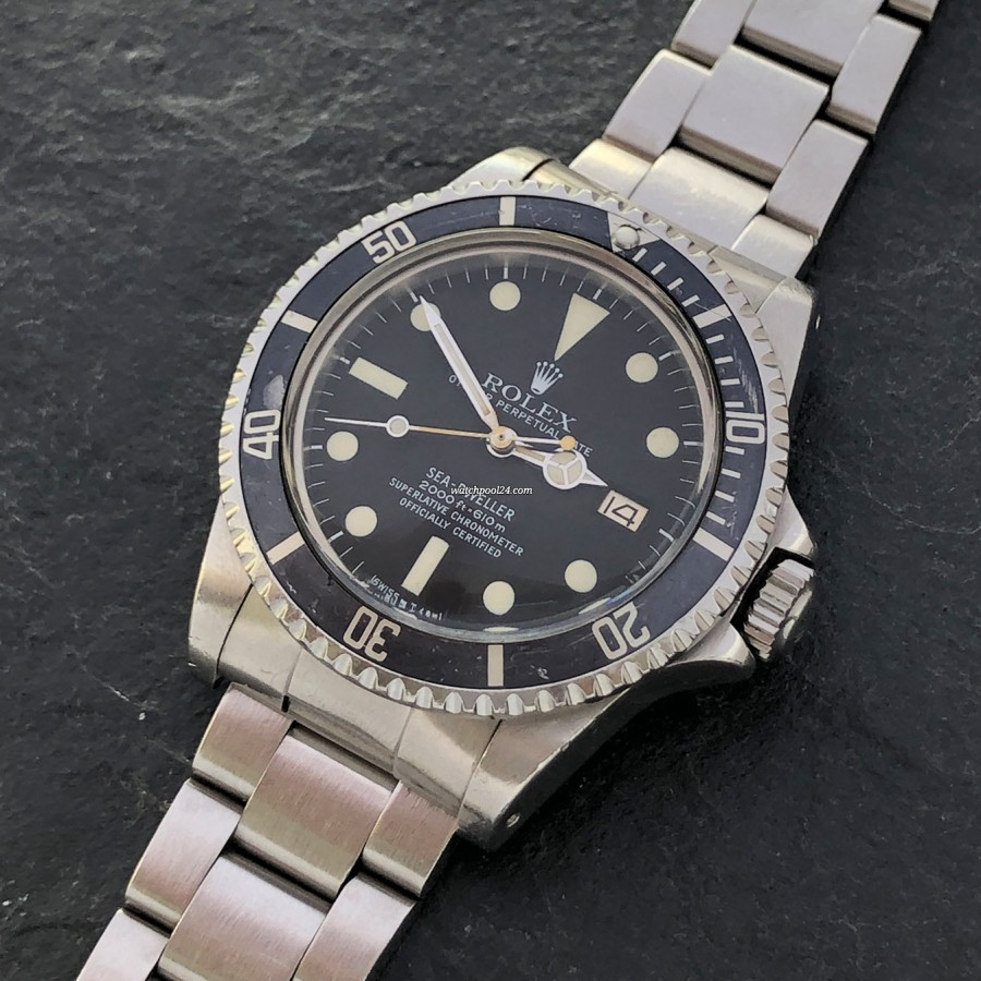 Rolex Sea-Dweller 1665 MK1 - professional diving watch from 1979