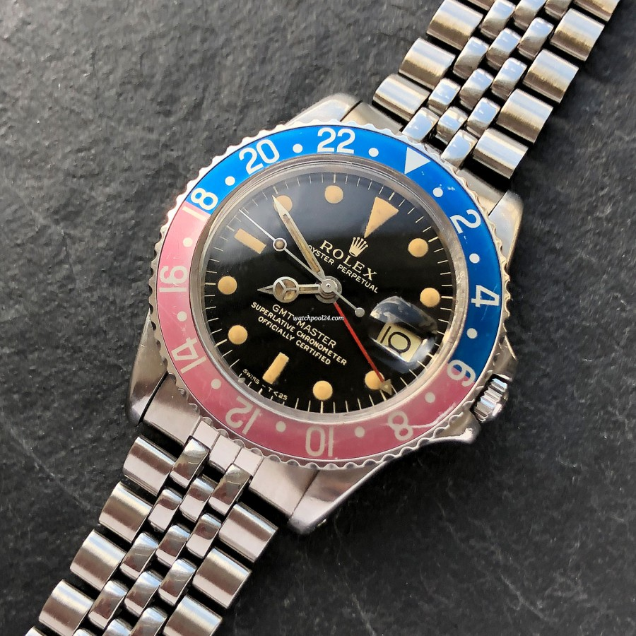 Rolex GMT Master 1675 Gilt Dial - an early gilt execution from 1965
