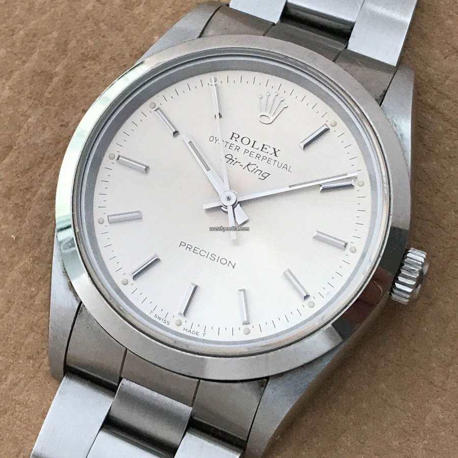 Rolex Air-King 14000 - timeless design and highest quality