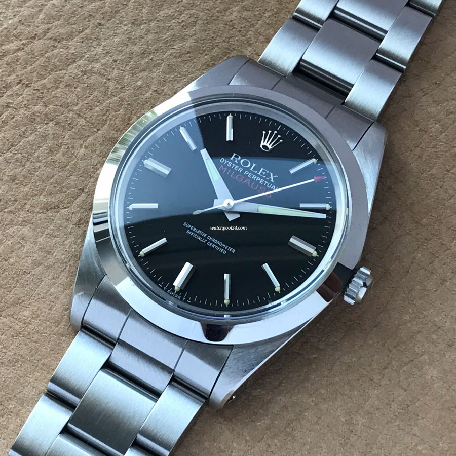 Rolex Milgauss 1019 Black Dial
