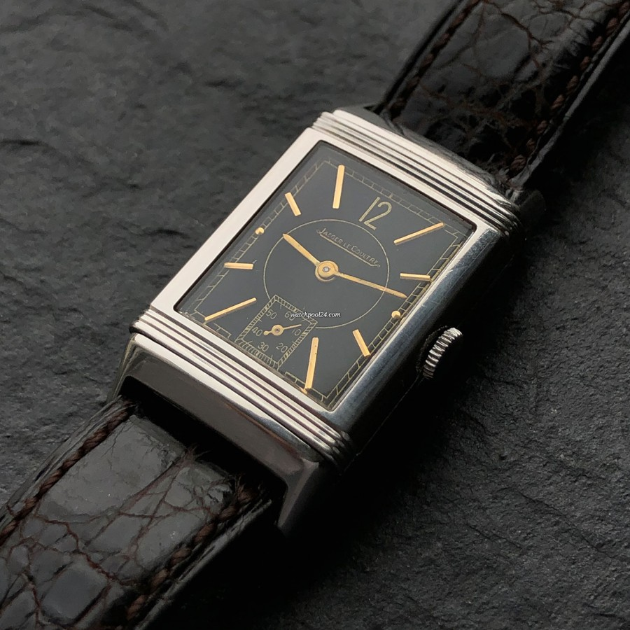 Jaeger-LeCoultre Reverso - the legendary rectangular Reverso case