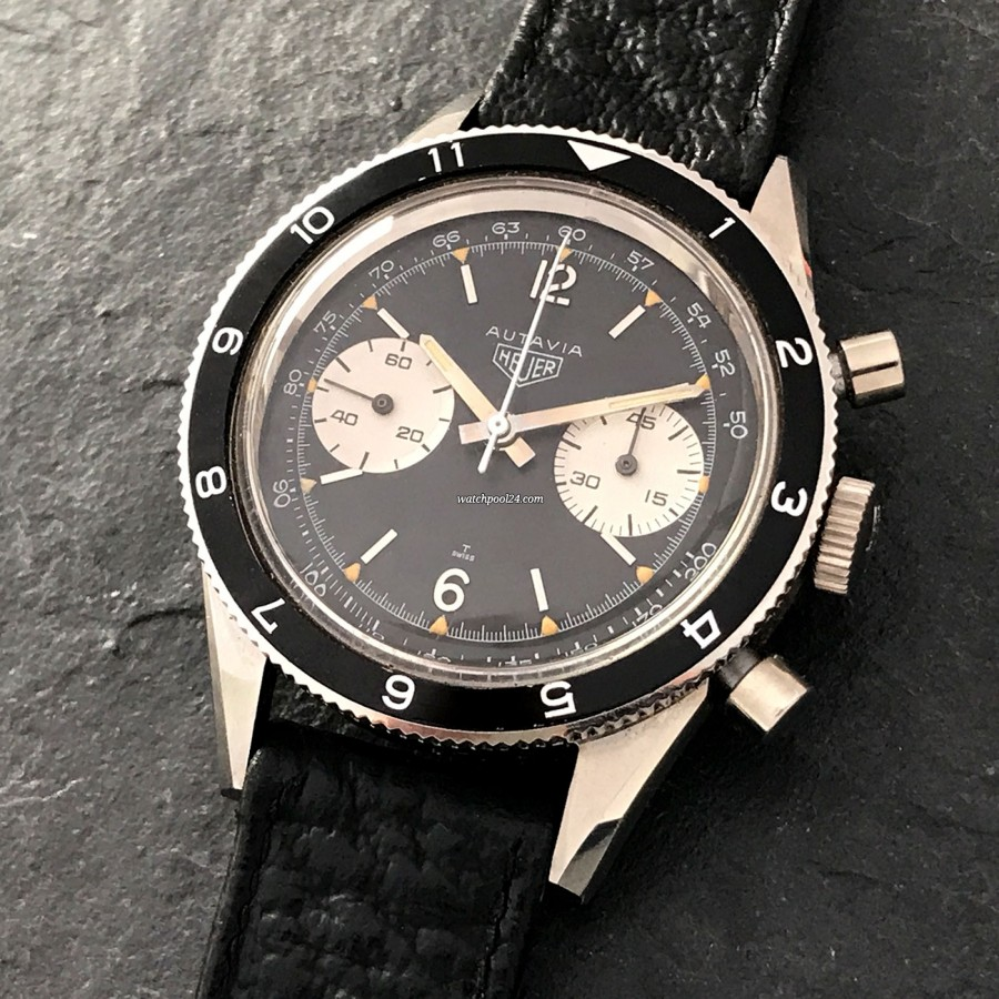 Heuer Autavia 3646 Andretti Tachy - NOS - a true vintage treasure for any watch collector