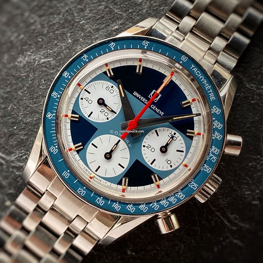 Universal Genève Compax 885108 Exotic - an extremely rare watch in mint condition