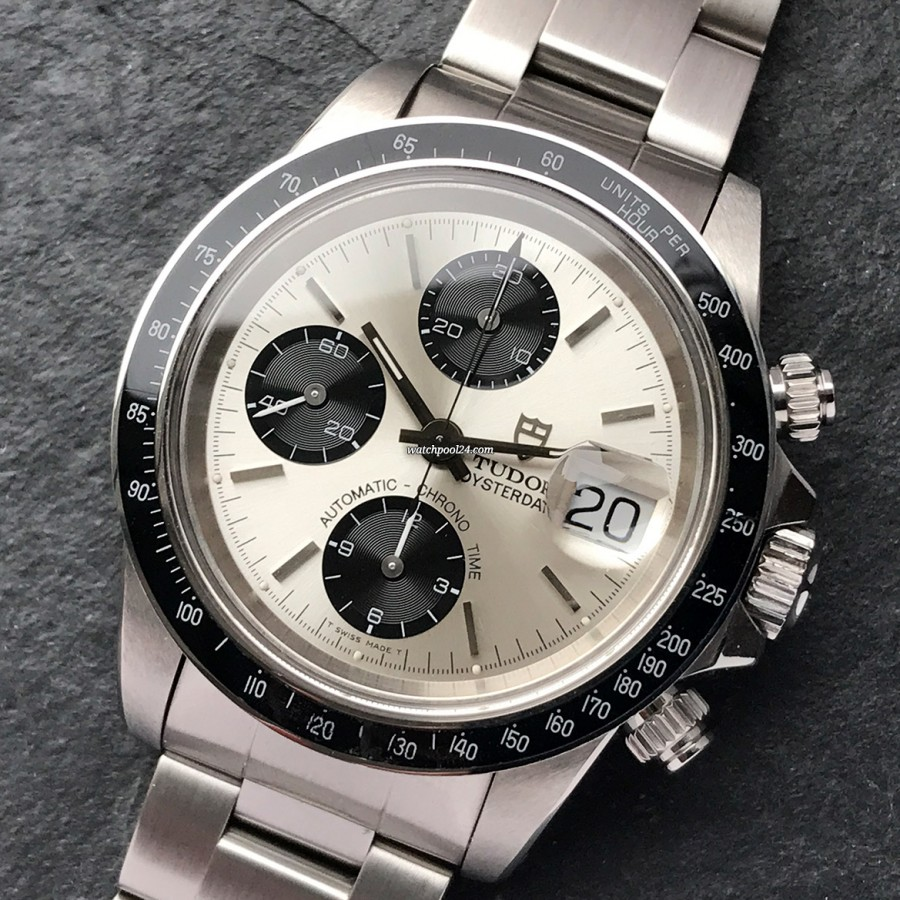 Tudor Oysterdate 79160 Punched Papers - a striking chronograph from 1994