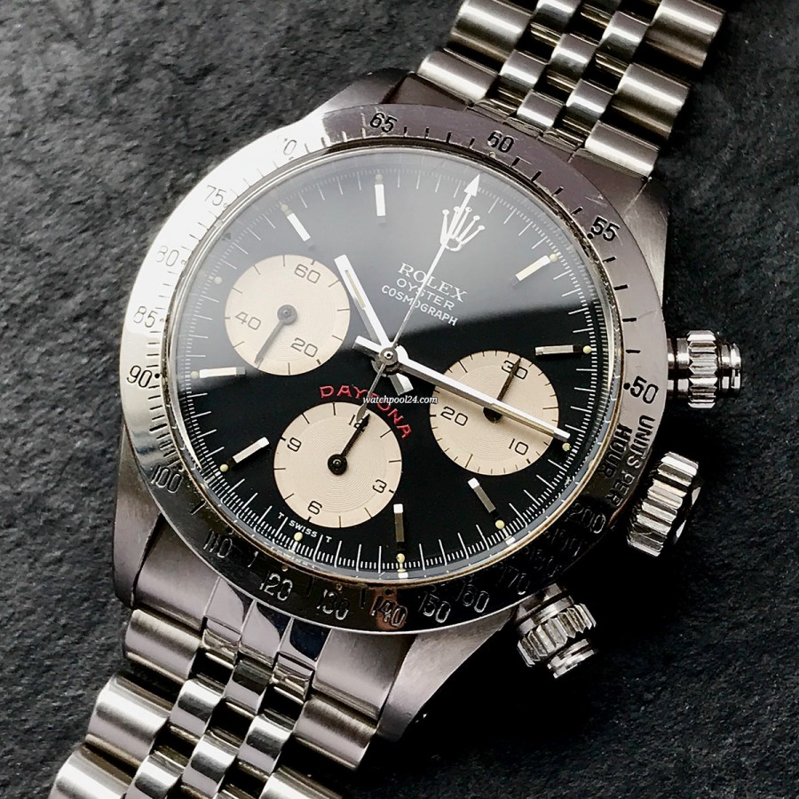 Rolex Daytona 6265 Black Dial - iconic chronograph from 1979