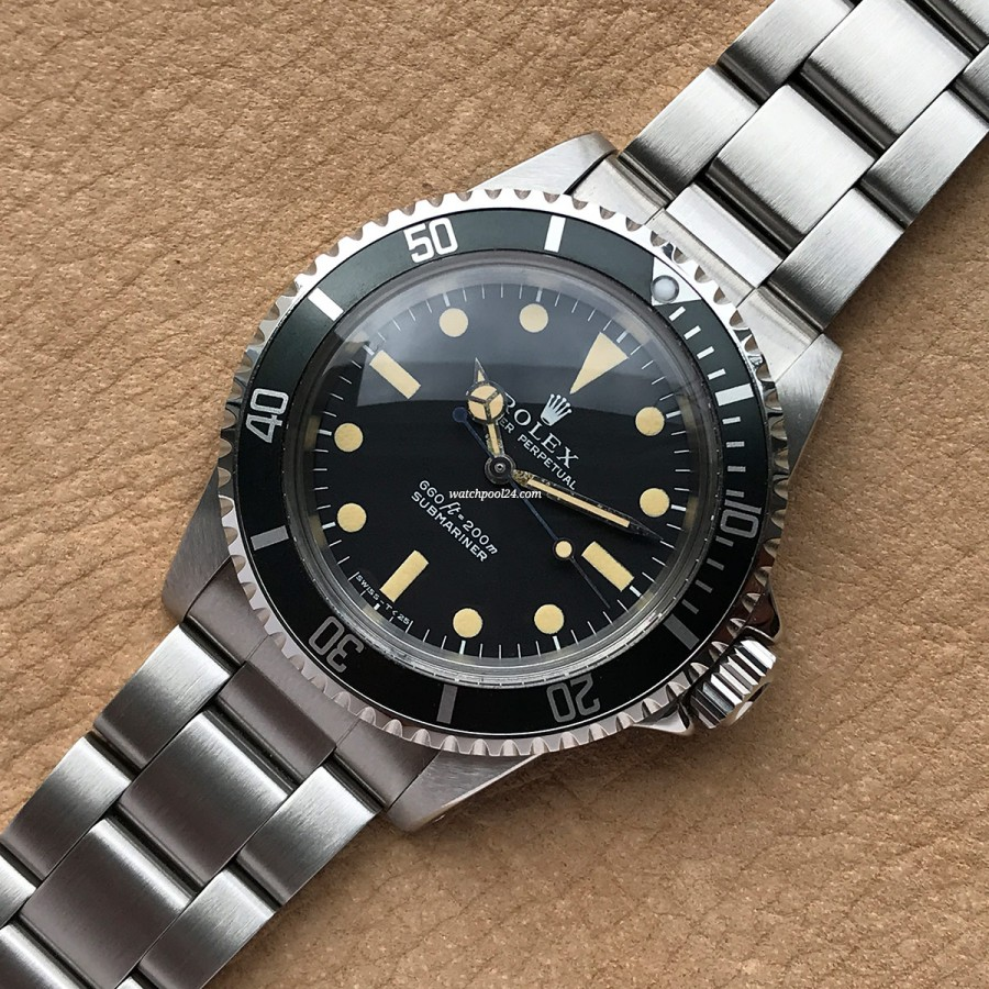 Rolex Submariner 5513 Ultra Full Set - an iconic diver's watch