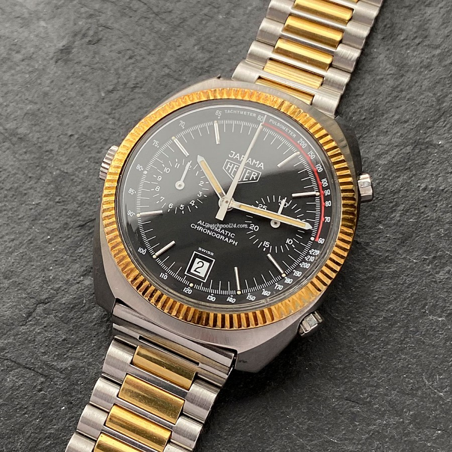 Heuer Jarama 110.245 - a rare Heuer chronograph from the golden 70s