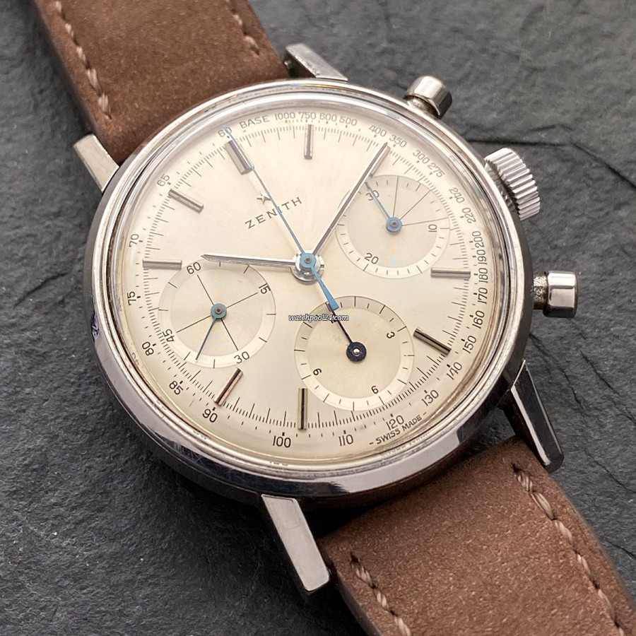 Zenith A273 Chronograph - a sporty and elegant chronograph from the 60s