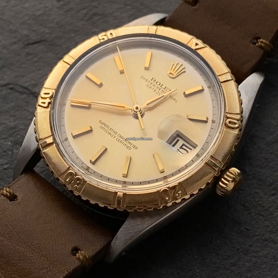 Rolex Datejust 1625 Turn-O-Graph - an important and great-looking watch from the 1960s