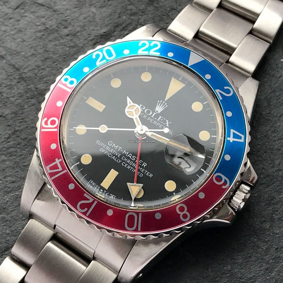 Rolex GMT Master 16750 Matte Dial - a great looking legend from 1981