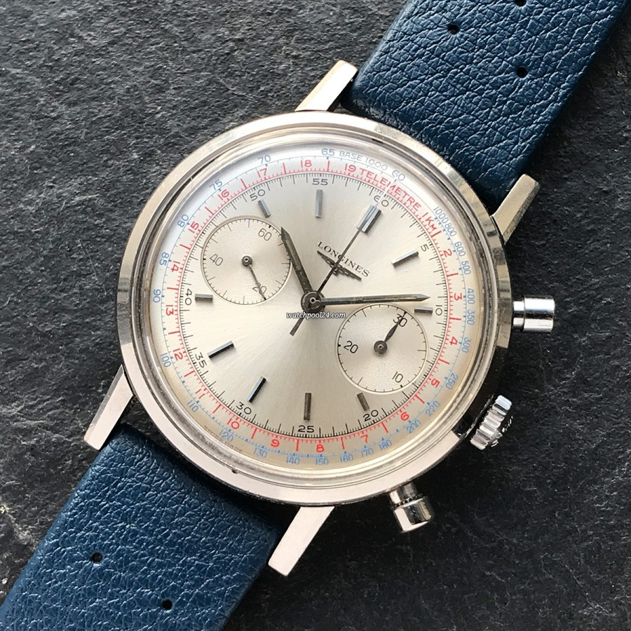 Longines Chronograph 7413 Flyback - elegant classic chronograph from 1968