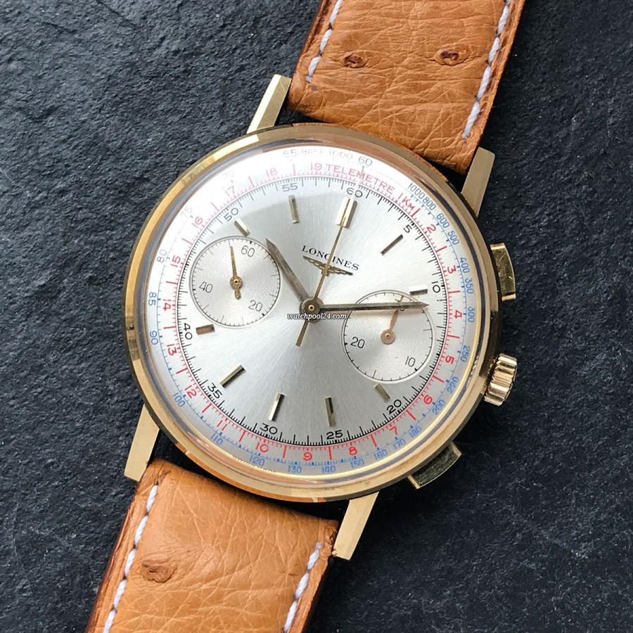 Longines Chronograph 7414 Box und Papiere - Luxus-Vintage-Chronograph aus dem Jahre 1967